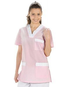 Chaqueta de pijama rosa para servicios y limpieza Dyneke