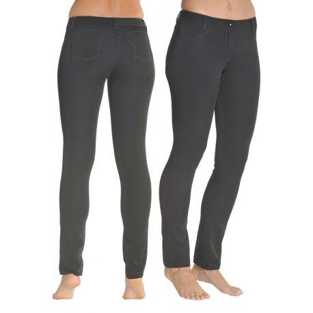 Pantalon estetica y comercio puch up señora negro