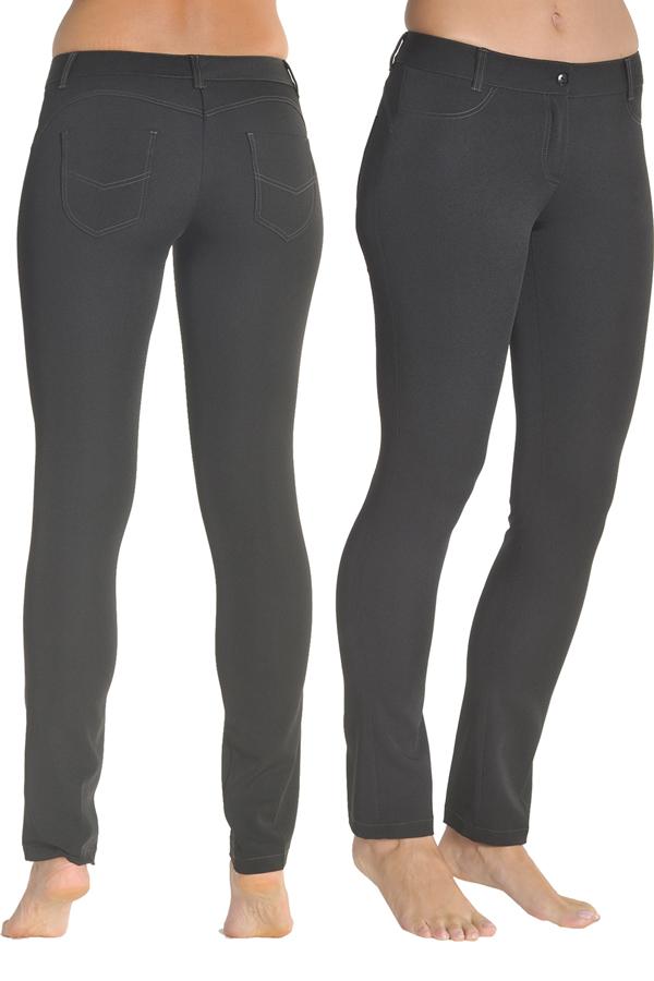 Pantalon Para Comercio Y Estetica Push Up Negro Dyneke
