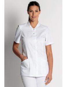 Chaqueta manga corta blanca