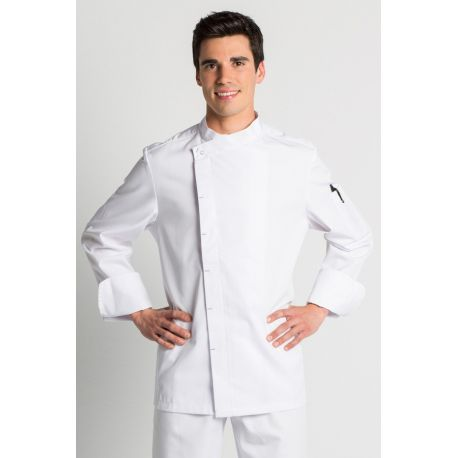 Chaqueta para chef blanca dyneke