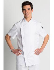 Chaqueta para hostelería y estética Cool Dry blanca Dyneke