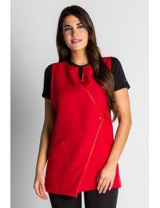 Estola para comercio y estética ángulo roja dyneke