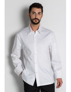 Chaqueta para caballero de estilo camisa blanca dyneke