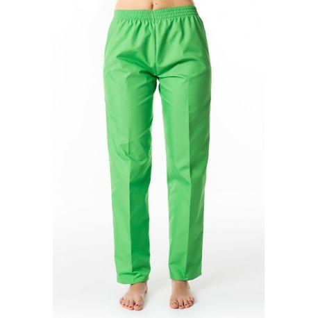 Pantalón unisex verde dyneke
