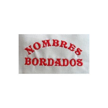 BORDADO DE NOMBRE