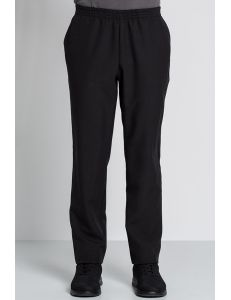 pantalon negro unisex con bolsillos dyneke