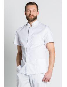 Chaqueta básica caballero blanca dyneke
