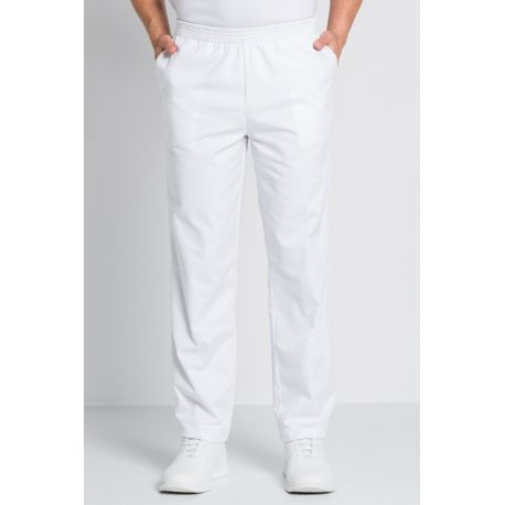 pantalon blanco unisex con bolsillos dyneke
