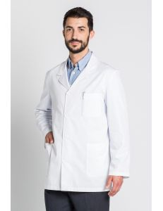 Chaqueta hombre manga larga blanca