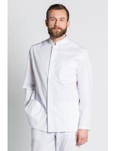 Chaqueta blanca en manga larga