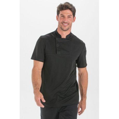 Camiseta fusion negra caballero