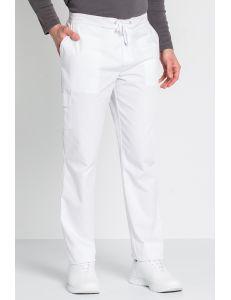 Pantalón caballero blanco trendy