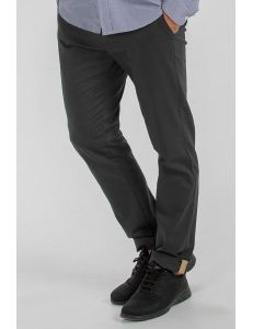 Pantalón chino negro caballero