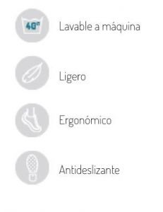 zueco antideslizante schu'zz blanco para sanidad y estetica