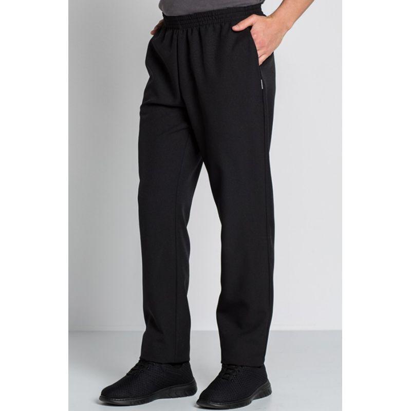 89500ff333 ... pantalon negro unisex con bolsillos dyneke