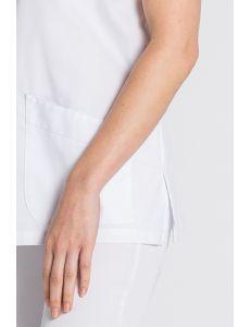 Blusón sanitario de mujer en blanco Dyneke
