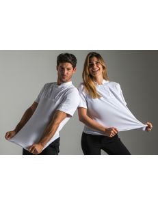 Camiseta fusion blanca mujer