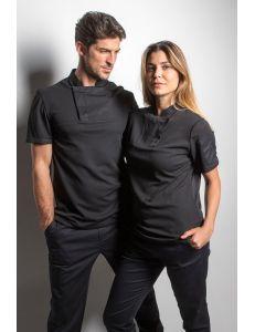 Camiseta fusion negra mujer