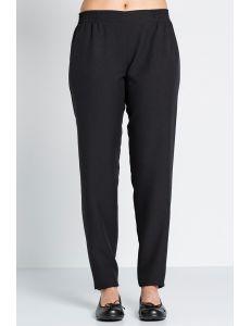 pantalon señora negro con goma peluqueria y comercio dyneke