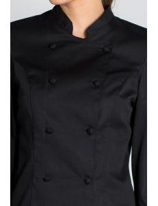 Chaqueta para chef Dyneke Negro