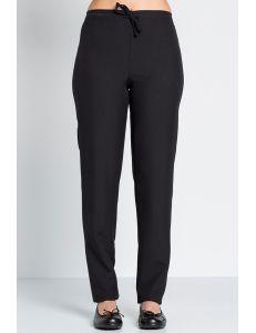 pantalon de mujer negro para peluqueria, comercio y estetica dyneke