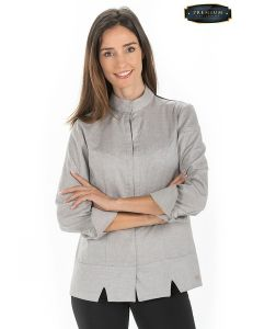 Chaqueta imperial beige mujer