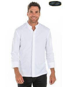 Camisa premium caballero blanca