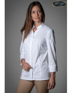 Camisa premium blanca mujer