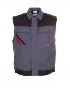 Chaleco Highline gris oscuro