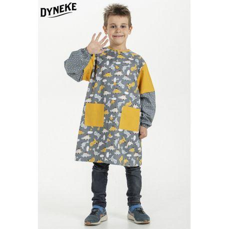 Bata escolar para niño Dinosaurios Dyneke