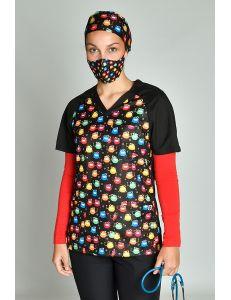 pijama sanitario microfibra monstruos