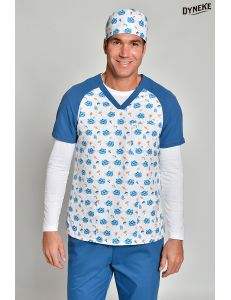 Pijama sanitario microfibra erizos