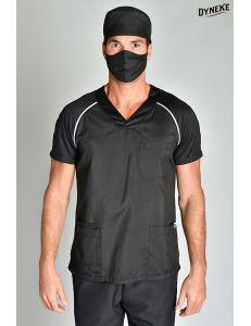 Pijama sanitario sport negro