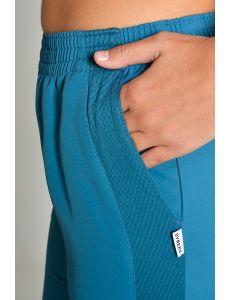 Pantalón rejilla Microfibra azul