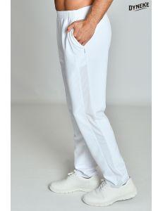 Pantalón rejilla Microfibra blanco