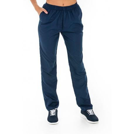 Pantalón microfibra azul
