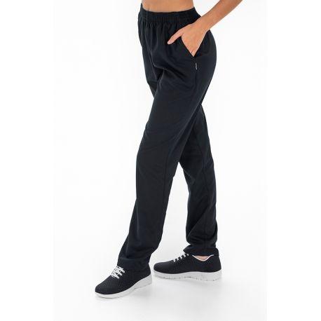Pantalón microfibra negro