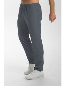 Pantalón microfibra gris