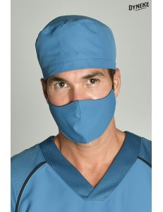 Gorro sanitario microfibra azul