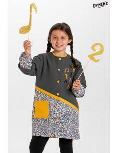 Bata infantil notas musicales