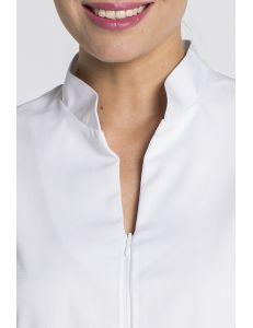 Chaqueta blanca para sanidad, estética, peluquería, comercio Dyneke