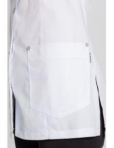 Casaca polivalente blanca sin mangas Dyneke