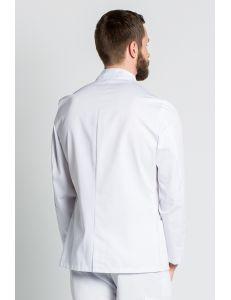 Chaqueta caballero blanca manga larga