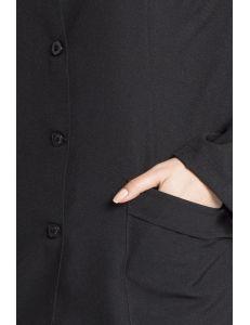 Chaqueta para comercio y estética de manga larga y cuello mao Dyneke