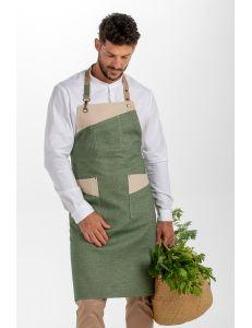 Delantal mosquetón verde