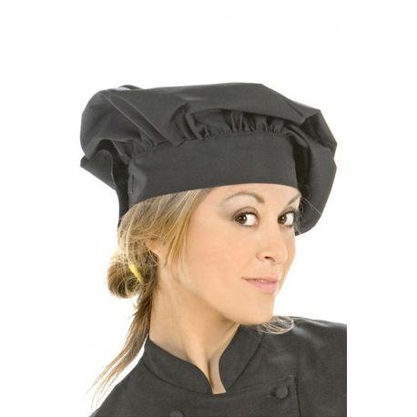 Gorro para cocina unisex negro Dyneke