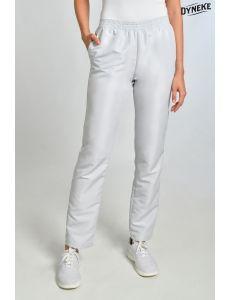 Pantalón con bolsillos mcfb gris perla